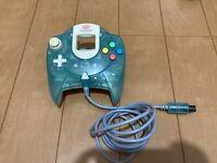 Sega DreamCast Controller HKT-7700 HelloKitty Green Color JAPAN DC