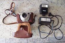 Sammler DDR Fotoapparat Altix-n mit Carl-Zeiß-Jena Objektiv  braune Lederhülle