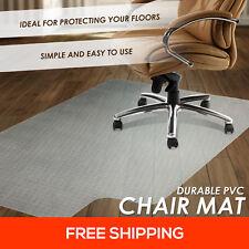 New Hard Floor Chair Mat Vinyl Protector Plastic Office Work PVC 1500x900mm
