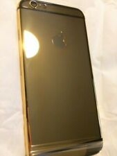 24K Gold Plated Iphone 6S Plain Apple Trim Housing Set - Limited Edition