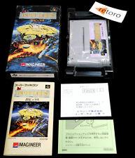 POPULOUS Super Famicom Nintendo BullFrog SNES Jap Buen Estado