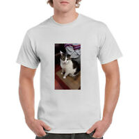 T Shirt Custom Your Photo Text Logo Printing Dtg Personalized T-shirt for Men