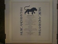 "P. Gabriel/XTC ""Music & Rhythm"" 2-LP gatefold various artists benefit album"