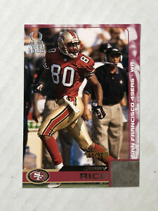 JERRY RICE 2000 Pacific Omega PREMIERE DATE SP 61/92! RARE! #126! CHECK MY ITEMS