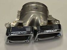 Mercedes Benz GL63 AMG GL550 AMG Chrome Exhaust Tailpipe Tail Pipe KIT Genuine
