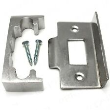 Nickel Rebate Kit for 13mm Double/french Door Latch Internal Security Lock Catch