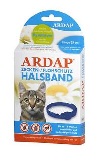 Ardap Zecken- und Flohhalsband für Katzen