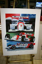 LIMITED EDITION PRINT TEAM PENSKE 1994 INDY 500 25 X 32 GAVIN MACLEOD SIGNED