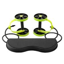 Core Double AB Roller Fitness Abdominal AB Power AB Wheel Exercise Sport_Tackle