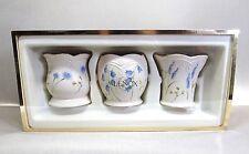 Classic Lenox China . Set Of 3 . Floral Pattern . Votive Candleholders