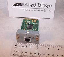 Allied Telesyn AT-A46 10/100/1000T Single Port Expansion Module RJ-45 Telesis IP