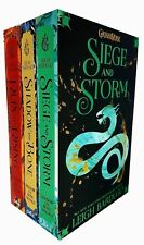Siege and Storm Shadow and Bone Ruin and Rising 3 Books Grisha Series Set NEW