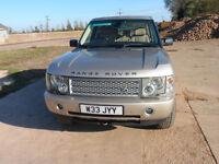 Range Rover Vogue 4.4L Petrol V8 2003 Only 76k