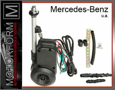 Mercedes SL R107 W107 Vollautomatische Antenne Chrom verchromt 560SL 380SL 280SL