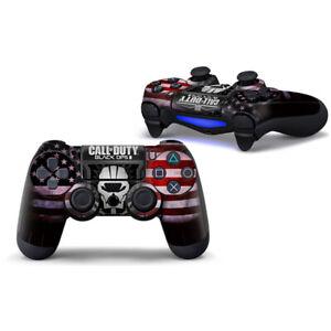 PS4 Haut Vinyl Skin Sticker Aufkleber für den Controller  Motiv Call of Duty 1