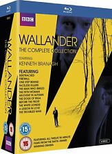 Wallander UK Complete Collection Series 1-4 [BBC](Blu-ray)~~Kenneth Branagh~~NEW