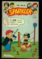 Sparkler Comics #81 VF/NM 9.0