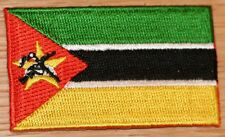 MOZAMBIQUE Country Flag Embroidered PATCH Badge