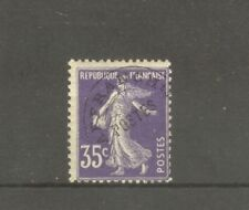 "FRANCE STAMP TIMBRE PREOBLITERE N°62 "" SEMEUSE LIGNEE 35c VIOLET "" NEUF xx TB"