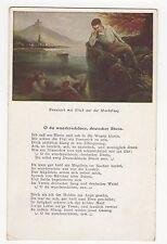 Germany, Braubach mit Blick auf die Marksburg O du wunderschoner Postcard, A575