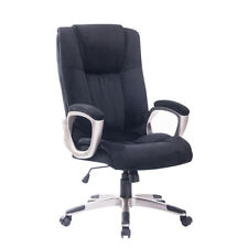 EXECUTIVE  Office Chair FAUX Leather Padded Swivel Weight-Recliner Computer Seat