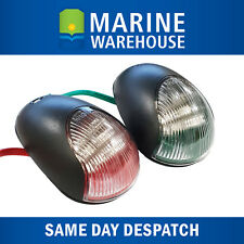 Vigil LED Navigation Lights Pair Black - Nav Port Starboard High Quality 705152