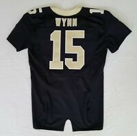 #15 Shane Wynn of New Orleans Saints NFL Equipment Room Team Issued Jersey