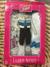 Barbie Fashion Avenue Teen Skipper Jean Shorts Jacket Accessories 1998