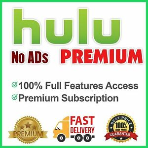Hulu No Ads Premium Account 5 Year Warranty Fast Delivery 24/7 Customer Service