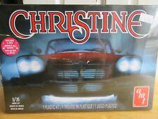 """1958 Plymouth Fury """"Christine"""" Plastic Model Kit NIB"""
