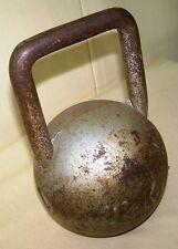 alte Hantel 7,5 Kg. Top Deko Gewicht Kettlebell Kugelhantel Kugelgewicht #2
