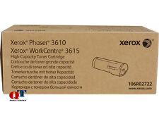 Xerox 106R02722 High Capacity Toner Original Cartridge Black P3610/WC3615