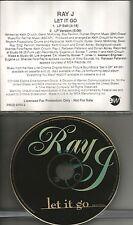 RAY J & RAHSAAN PATTERSON Let it go RARE EDIT PROMO DJ CD single 1996 USA MINT