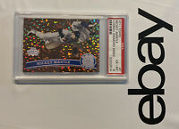 Mickey Mantle PSA 6 Topps New York Yankees Cognac Collector Card Man Cave 2011
