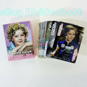 Collectible Playing card/Poker Deck 54 The US Famous Child Star - Shirley Temple