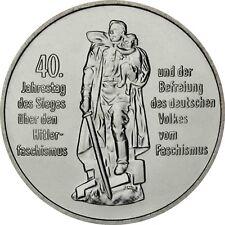 Rda 10 Mark 1985 BFR. 40 ans Libération du Hitler-fascisme dans münzkapsel