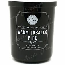 DW Home Large 15oz Candle 56 Hour Large Double Wick Warm Tobacco Pipe Scent