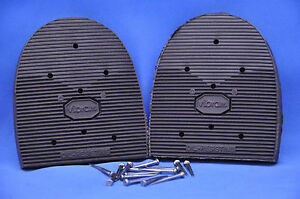VIBRAM #438 Cowboy Shoe Repair Replacement Heels with Nails- 4 Sizes! NEW