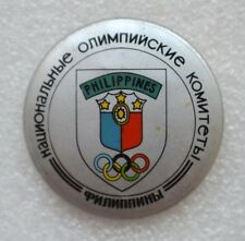 Philippines Official Emblem 1984 Summer Olympic Games Los Angeles Olympiad