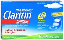 CLARITIN 12 Hour RediTabs 5mg Orally Disintegrating Tablets 10 Tablets
