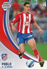 042 PABLO IBANEZ ESPANA ATLETICO TARJETA CARD MEGA CRACKS LIGA 2008 PANINI