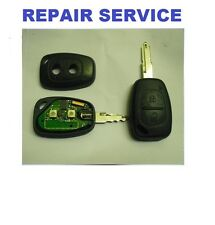 NISSAN Primastar 2 button Remote key fob Repair Refurbishment Service