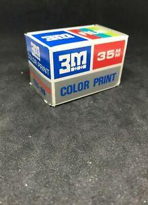 2 x Konica /& 3M  35 mm film lot expired film