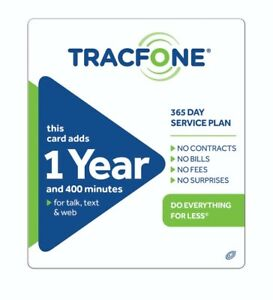 TracFone $99.99 Refill: 400Minutes / 365Days - fast & right direct refill