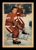 1953-54 Parkhurst #44 Marty Pavelich G/VG X1316868