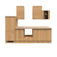 Einbauküche ohne Elektrogeräte Küche keine E-Geräte Küchenzeile 280 cm buche
