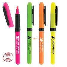 Personalized Highlighter Printed With Your School Name / Logo / Text / 250 QTY