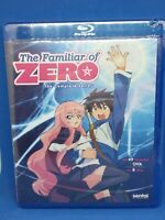 The Familiar of Zero Complete Anime Series Collection Season 1 2 3 4 OVA Blu-ray