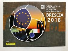 2018 Folder XXI Campionato Europeo di Futsal per Sacerdoti Priests Football 6000