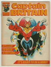 Captain Britain (1985) #13 1st Full Betsy Braddock as Captain Britain Davis VG+